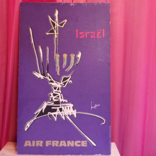 Affiche Air France Israel