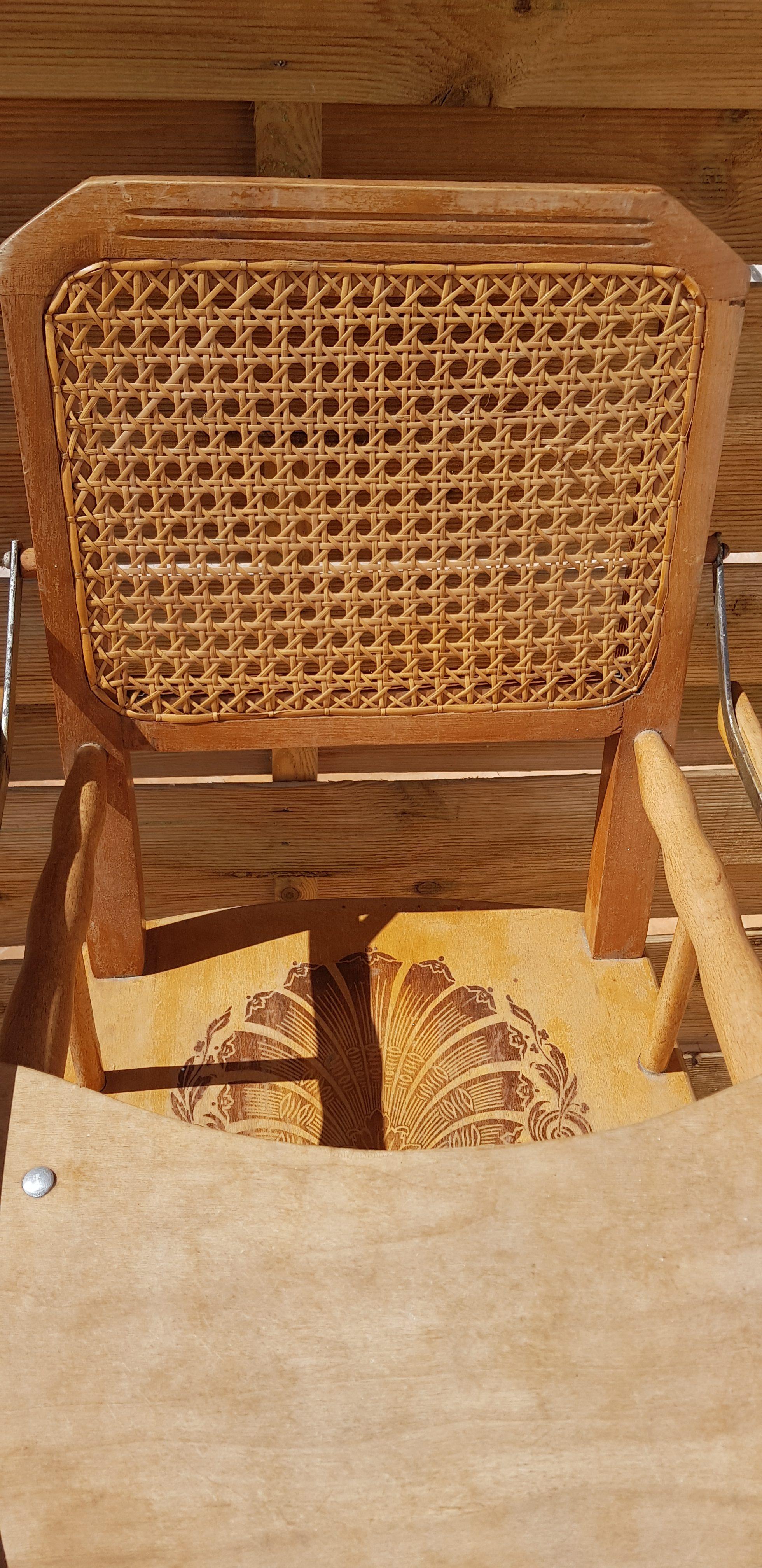 chaise haute enfant ancienne meuble conflans art populaire. Black Bedroom Furniture Sets. Home Design Ideas